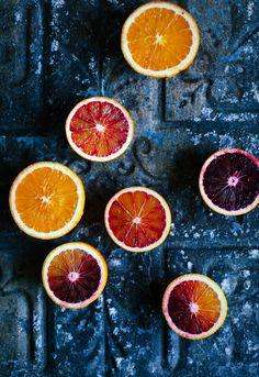Oranges, beautiful color sceem! yummy