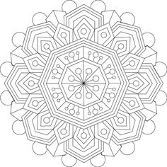 Picture of Calming Thoughts coloring page