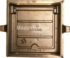 Zurn Square Hinged Floor Access Panel, Cast Iron, Bronze or Nick – MasterBuilder Mercantile Inc. Technical Documentation, Access Panel, Polished Nickel, Plumbing, Sale Items, Cast Iron, Floors, Engineering, Walls