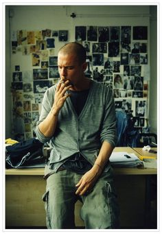 "Alexander McQueen. ""Fashion should be a form of escapism, and not a form of imprisonment."""