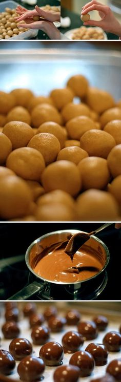 #Peanut Butter Balls or what southern people like to call #buckeyes