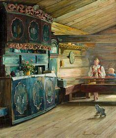 Edvard Munch, Lund, Norwegian Style, Scandinavian Art, Ludwig, Kirchen, Room Paint, Historic Homes, Beautiful Paintings