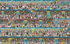 Keep Searching. But can you find Wally, Wenda, Wizard Whitebeard and Odlaw? Where's Waldo Pictures, Ou Est Charlie, Can You Find It, Wheres Wally, Detail Art, Brain Teasers, Timeline Photos, Colouring Pages, Optical Illusions
