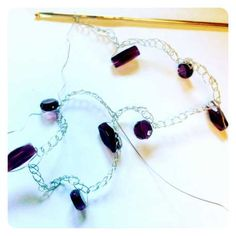 crocheting with wire jewelry