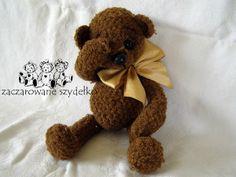 szydełkowy miś, crochet teddy bear. www.szydelkowe-chwile.pl