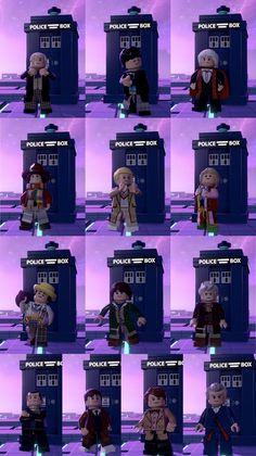 Lego, Doctor Who
