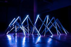 Светодиодная инсталляция «TETRA» от RDV COLLECTIVE #lednews #светодиоды #ledинсталляция #визуальнаяинсталляция #светодиоднаяинсталляция #световаяинсталляция #интерактивнаясветодиоднаяинсталляция