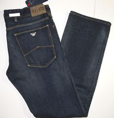 Armani jeans regular fit straight leg size 31x34 style J15 regular NEW  #ArmaniJeans #StraightLeg