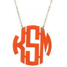 I need one of these with my sons initials!