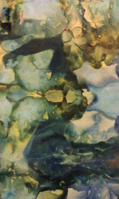 Terry Sargent Peart: ICE DYEING