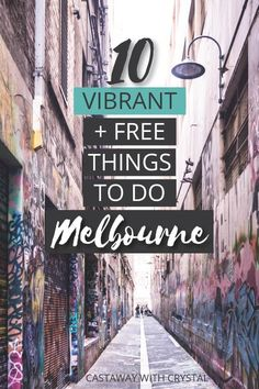 10 Vibrant Free Things to Do in Melbourne, Australia, - Australia (Oceania) Australia Travel Guide, Visit Australia, Melbourne Australia, South Australia, Australia Winter, Australia 2018, Queensland Australia, Victoria Australia, Western Australia