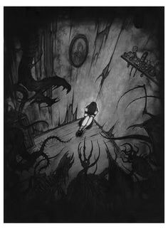 Alice in the dark