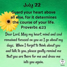 Prayer to focus our hearts and mind and soul on Him. Prayer Verses, God Prayer, Daily Prayer, Bible Verses, Daily Scripture, Daily Devotional, Birth Month Quotes, Bible Proverbs, Psalms