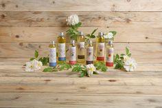 Huile de massage... Mélange d'huiles végétales et d'huiles essentielles rigoureusement sélectionnées..