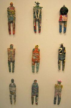 Textiles, Assemblage Art, Textile Artists, Soft Sculpture, Art Plastique, Fabric Art, Figurative Art, Art Lessons, Fiber Art
