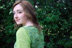 Linen Tee Knitting Pattern #sweater