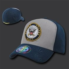 US #NAVY Flex Fit Cap