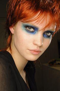 gautilier 2011 runway makeup