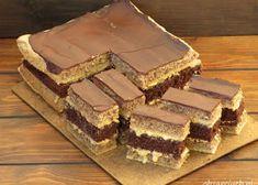 Deser szkolny - Obżarciuch Romanian Desserts, Romanian Food, Polish Recipes, Polish Food, Homemade Cakes, Creme Caramel, Sugar Cookies, Baked Goods, Sweet Treats