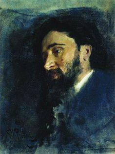 Portrait of writer Vsevolod Mikhailovich Garshin Painting Ilya Repin, Academic Art, Oil Painters, Art Database, Sketch Painting, Russian Art, Art World, Figurative Art, Great Artists