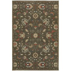 "The Conestoga Trading Co. Payton Gray Area Rug Rug Size: 9'10"" x 12'10"""