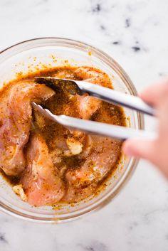 Honey Mustard Chicken Marinade, Chicken Marinade Recipes, Chicken Marinades, Overnight Chicken Marinade, Seasoning For Chicken, Homemade Honey Mustard, Crockpot, Cooking Recipes, Paleo Recipes