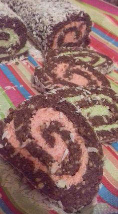 Keksztekercs színesen, mikor megláttam ezt az ötletet, már tudtam, hogy ez nálunk is siker lesz! - Ketkes.com Marvel, Cookies, Sweet, Desserts, Food, Baking, Crack Crackers, Candy, Tailgate Desserts