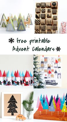 10 free printable advent calendars - freebie calendar - Ohoh Blog - diy and  crafts Calendrier bc6e6f284c62