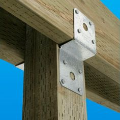 Simpson Strong-Tie - ZMAX Deck Joist Tie - Made of 14 gauge galvanized steel for strength and corrosion resistance for exterior and treated wood applications.