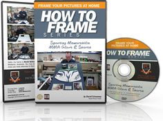 How to frame series - Frame Sporting Memorabilia MMA Glove and Shorts. In this DVD training discover how to frame boxing gloves and shorts