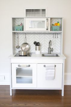 Ikea Duktig kids kitchen hack More