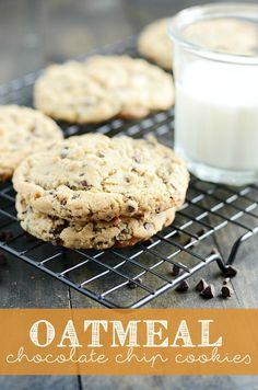 KAF Chocolate Chip Oatmeal Cookies