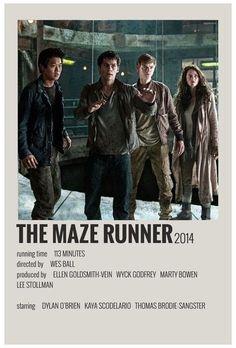 Iconic Movie Posters, Minimal Movie Posters, Minimal Poster, Iconic Movies, Film Polaroid, Photo Polaroid, Maze Runner Film, Movies Like Maze Runner, The Maze Runner