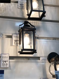 2 of these for front porch and garage Front Porch, Home Projects, Sconces, Wall Lights, Garage, Home Decor, Carport Garage, Chandeliers, Appliques