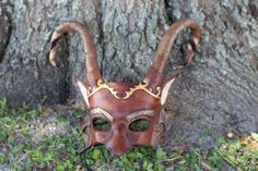 Hey, I found this really awesome Etsy listing at https://www.etsy.com/listing/207401548/fantasy-woodland-satyr-leather