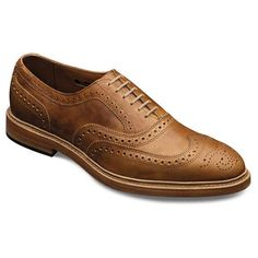 These are, apparently, a lace-up casual shoe. I suspect I have some shoes that are a bit farther along on the casual spectrum, but perhaps I wouldn't wear this with a tux or even a suit.