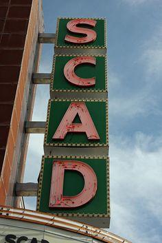 Scad Theater.........Savannah Georgia