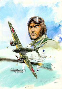 """Kawasaki Ki-45 Toryu """"Nick"""" probably of the 13th Sentai claiming victory over RAAF Beaufighter"""