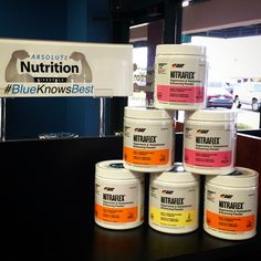 """Have you tried GAT's Nitraflex Preworkout? This intense energy blend (325mg caffeine) increases nutrient delivery and """"pump"""" during training. It's creatine-free, so you can stack it with your creatine of choice! This week only, it's $5 off! What a way to end a workweek."""