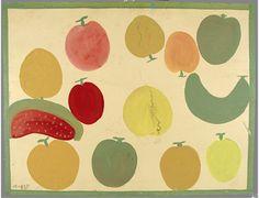 Fruit, Alabama, United States, 1978-80, by Mose Tolliver.