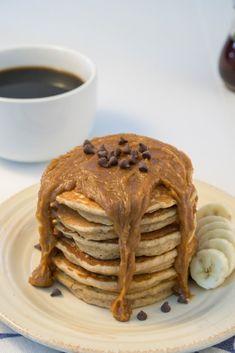 IMC - Peanut Butter Banana Pancakes #recipes #organic #pancakes #banana #coconutsugar #yummy #organicfood #keratonorganic #glutenfree #nongmo #nongmoproject #sustainable #healthy #healthyfood #kosherfood #lowgi #vegan #veganlife #lifestyle #veganlife #whatveganseat #instahealth #instafood #welovecooking