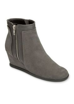 AEROSOLES Grey Combo Outfit Boot