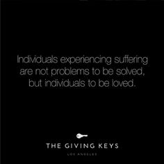 You can always love. So love well. #TheGivingKeys
