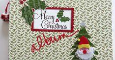 Terzo e ultimo album di Natale di quest ' anno ! Carte molto colorate , appartenenti come al solito a più collezioni , sono state taglia... Scrapbook Albums, Scrapbooking, Christmas Ornaments, Holiday Decor, Party, Scrapbooks, Christmas Jewelry, Christmas Decorations, Memory Books