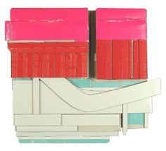 Ryan Sarah Murphy      Routine  2012  cardboard, glue  6 x 6 3/4 x 1 inches