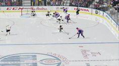 New SuperMario-NHL Crossover Gameplay