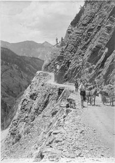 This Stretch Of Road Known As The Million Dollar Highway