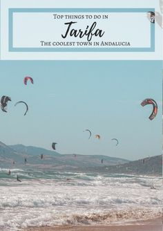 Tarifa, the coolest and most laid-back town in Spain, is a world apart from the rest of Andalusia! Discover here what to do in Tarifa! Kitesurfing, Spain Winter, Stuff To Do, Things To Do, European Road Trip, Destinations, Spain Travel, Travel Europe, Italy Travel
