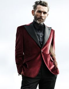 Fashion photography (Velvet Smoking Jacket - Rose & Born FW 2012-13, via thesnobreport)