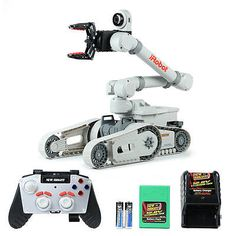 iRobot Kobra 710 * Brand New Bright Multi-Function Remote Control R/C robot toy All Toys, Toys R Us, Mobile Robot, Robot Arm, Robot Design, Mechanical Design, Kids Store, Electrical Engineering, Learning Games